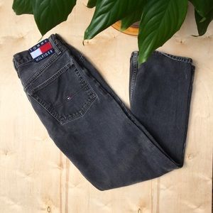 Black tommy jeans